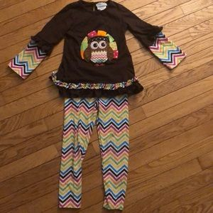 Toddler girl Thanksgiving outfit (size 5)